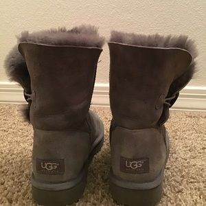 UGG grey suede boots so 7